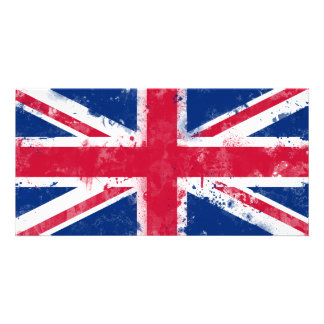 Flag of the United Kingdom or the Union Jack Card