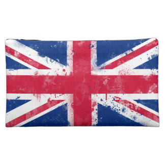 Flag of the United Kingdom or the Union Jack Cosmetic Bag
