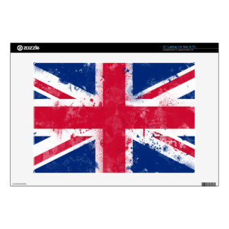 Flag of the United Kingdom or the Union Jack Decal For Laptop