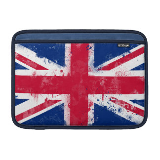 Flag of the United Kingdom or the Union Jack MacBook Sleeves