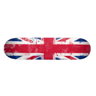Flag of the United Kingdom or the Union Jack Skateboard Deck