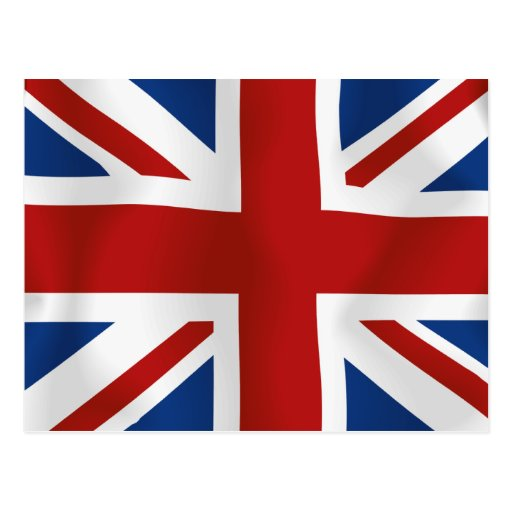 Flag of The United Kingdom Post Cards