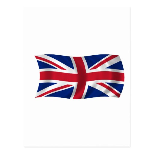 Flag of the United Kingdom Postcard