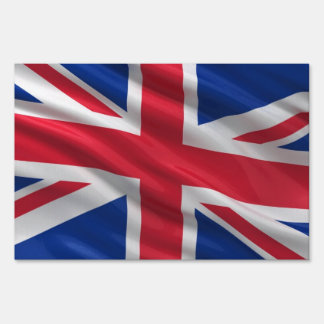 Flag of the United Kingdom Yard Sign