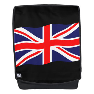Flag of the United Kingdom + your ideas Backpack