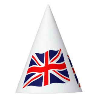 Flag of the United Kingdom + your ideas Party Hat
