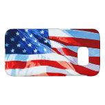Flag of the United States Abstract Impressionism Samsung Galaxy S7 Case