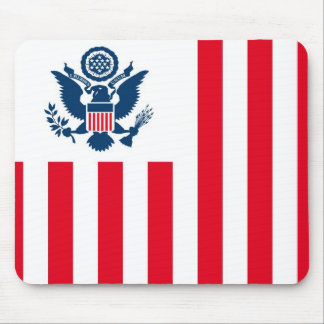 Flag of the United States Customs Service Mouse Pad