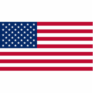 Flag of The United States Cutout