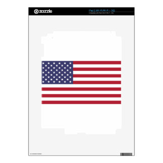 Flag of the United States Decals For iPad 2