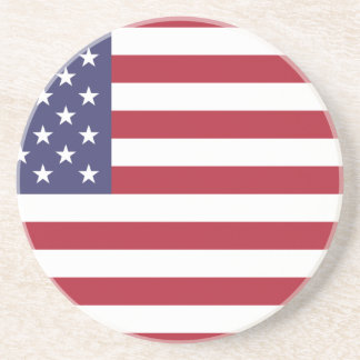 Flag of the United States Drink Coaster