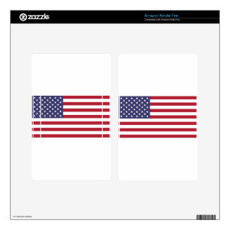 Flag of the United States Kindle Fire Decals