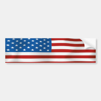 Flag of the United States of America Bumper Sticker