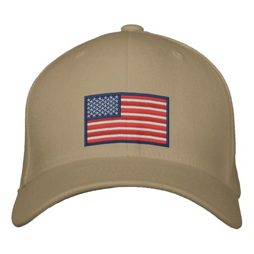 Flag of the United States of America Embroidered Baseball Hat