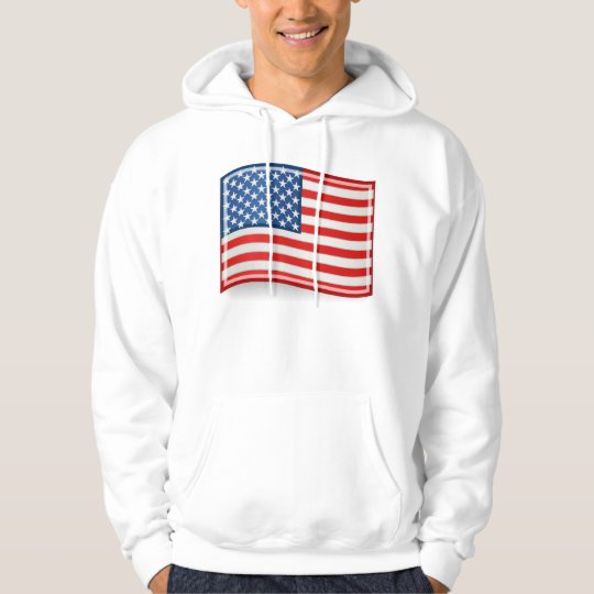 Flag of the United States of America Hoodie