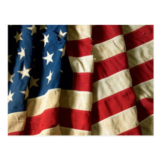 Flag of the United States of America - Postcard