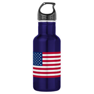 Flag of the United States of America Water Bottle
