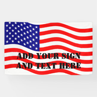 Flag of the United States of America - your ideas Banner