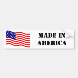 Flag of the United States of America - your ideas Bumper Sticker