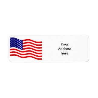 Flag of the United States of America - your ideas Label