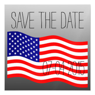 Flag of the United States of America - your ideas Magnetic Invitations