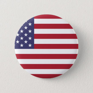 Flag of the United States Pinback Button