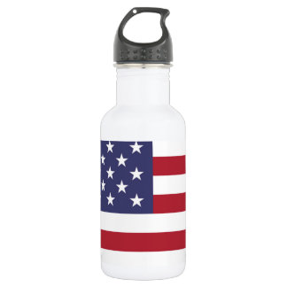 Flag of the United States Stainless Steel Water Bottle