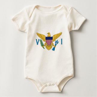 Flag_of_the_United_States_Virgin_Island Baby Bodysuit