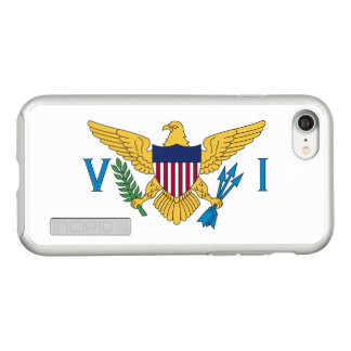 Flag of the US Virgin Is. Silver iPhone Case