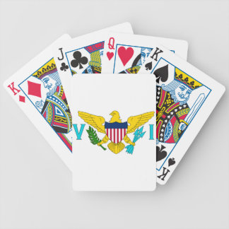 Flag of the US Virgin Islands Bicycle Playing Cards
