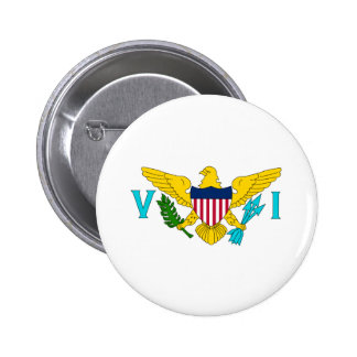 Flag of the US Virgin Islands Pinback Buttons