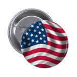 Flag of the USA 2 Inch Round Button