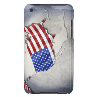 Flag of the USA Barely There iPod Cover