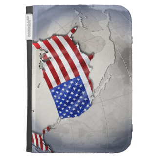 Flag of the USA Case For Kindle