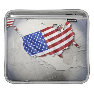 Flag of the USA iPad Sleeves