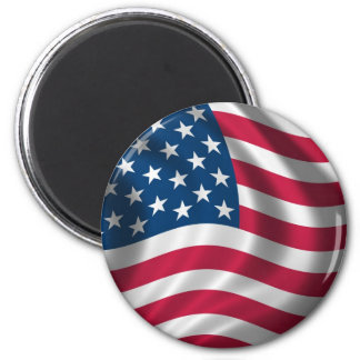 Flag of the USA Refrigerator Magnets