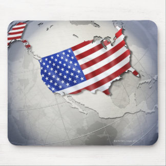 Flag of the USA Mouse Pad
