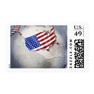 Flag of the USA Postage