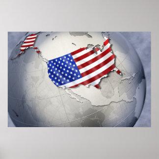 Flag of the USA Poster