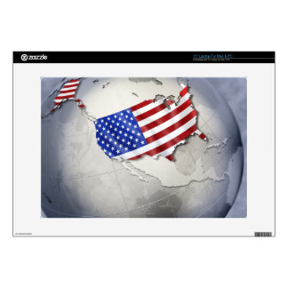 """Flag of the USA Skins For 15"""" Laptops"""