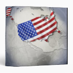 Flag of the USA Vinyl Binders