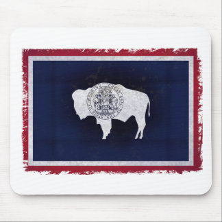 Flag of the Wyoming Mouse Pad