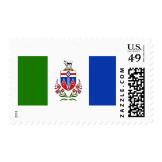 Flag of the Yukon Postage Stamps