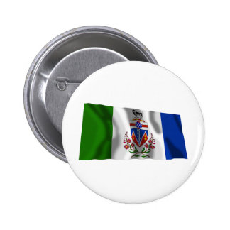 Flag of the Yukon Territory, Canada 2 Inch Round Button
