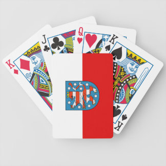 Flag of Thuringia Bicycle Playing Cards