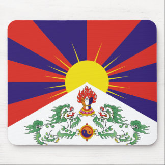 Flag of Tibet Mouse Pad