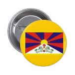 Flag of Tibet Pinback Button