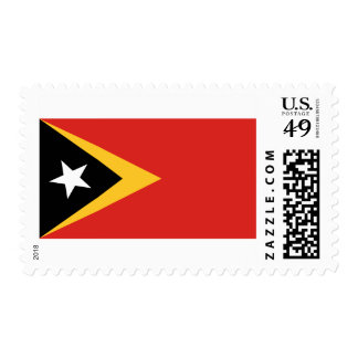 Flag of Timor-Leste Postage Stamps