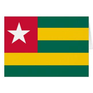 Flag of Togo Card