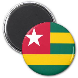 Flag of Togo Refrigerator Magnet